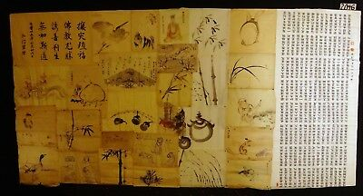 30x 19C/20C Japanese Mixed Lot Paintings, Drawings, Calligraphies (HMA) #2046