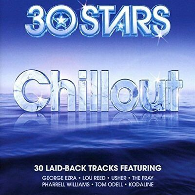 Chillout NEW 2CD Hits by Jeff Buckley,George Ezra,Lou Reed,Usher,The Fray + MORE
