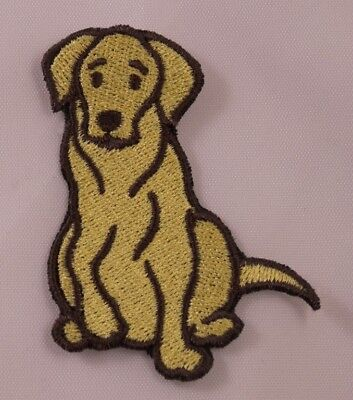 Blue Lab Labrador Retriever Dog Large Jacket Iron//Sew on Embroidered Patch