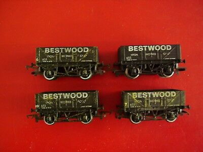 4 Hornby Open Wagons