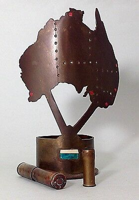 Vintage Military Trench Art- 3 Pieces