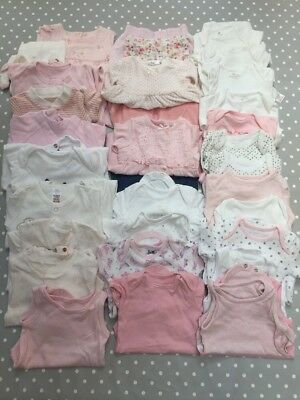 Girls Baby Clothes - Very Large Bundle Newborn 0-1 Month