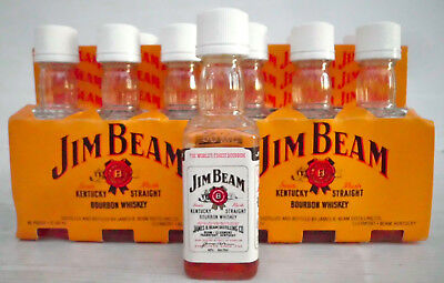 Jim Beam Vintage White Label Mini Bottles Full Pack -Deleted/ Impossible To Find