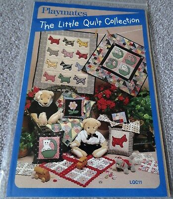 RETRO PATTERN - PLAYMATES - THE LITTLE QUILT COLLECTION - Various Sizes - USA