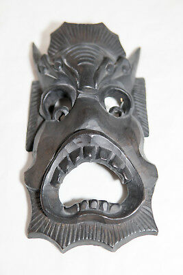 Hand Carved Wooden South East Asian Chinese Art Tribal Mask