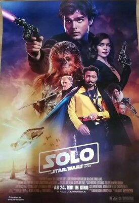 Solo - A Star Wars Story ~ Filmposter A1 - Han Solo Kinoposter LIMITIERT