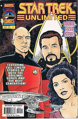 Star Trek Unlimited #2 (Marvel 1997): Action of the Tiger/The Unkindest Cut