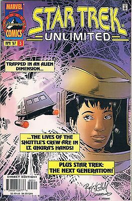Star Trek Unlimited #3 (Marvel 1997): Message in a Bottle/Sins of the Fathers