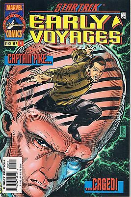 Star Trek Early Voyages #4 (Marvel 1997): Nor Iron Bars a Cage