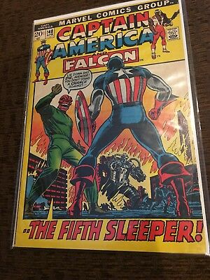 Lot Of 4 Captain America Comics from 1968 1st Series