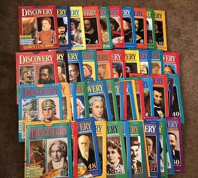 Marshall Cavendish Discovery 1-60 Covers & unused activity sheets NO MAGS.