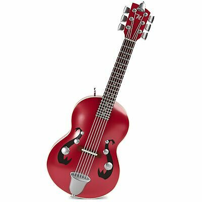 Hallmark Keepsake 2018 Mini Little Strummer Guitar Musical Ornament, 3.04""
