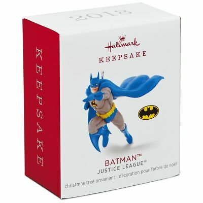 Hallmark Keepsake 2018 Mini Justice League™ Batman™ Ornament, 1.1""