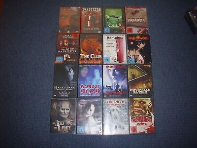 50 DVDs (z.b. 23 Ways to Die, The Slaughter,RAW,Eat)
