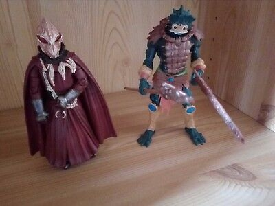 Doctor Who-Sycorax Leader Figur plus Master of the Universe (?) Figure