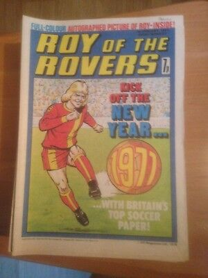 Roy of the Rovers Comics 1977 All 53 Issues Good Condition