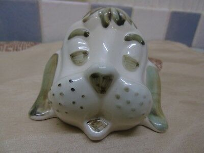 Welsh Dragon studio pottery  Glasses holder