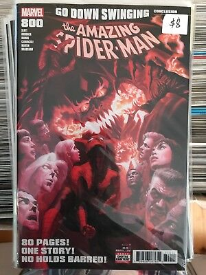 AMAZING SPIDER-MAN #800 NM 1st Print ALEX ROSS COVER Red Goblin Venom SUPERIOR