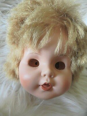 Vintage Doll Head Can be used for Prop and or remade into a beauty/scary baby