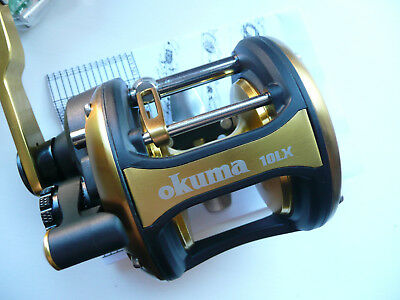 Okuma Multirolle-Ungefischt !!! Norway Etc.