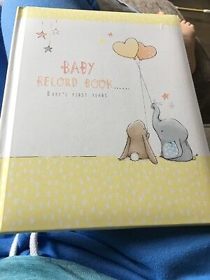 Baby Record Book - Baby Shower Gift