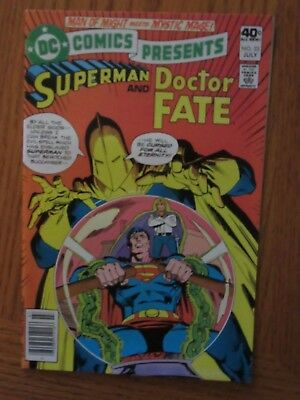 Dc Comics Presents #23 (Superman And Doctor Fate)