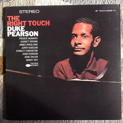 Duke Pearson The Right Touch Blue Note Freddie Hubbard Stanley Turrentine RVG