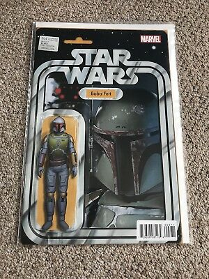 Star Wars #4 Boba Fett JTC Action Figure Variant
