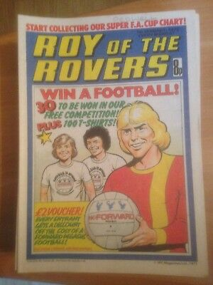 Roy of the Rovers Comics 1978 All 49 Issues Good Condition