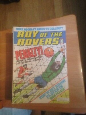 Roy of the Rovers Comics 1979 All 52 Issues Good Condition