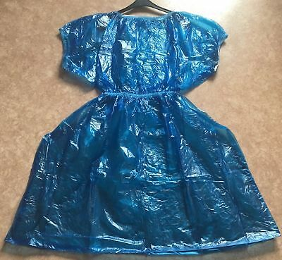 PVC Gown Dress - Rollenspiel - Adult Baby - Nurse  - Gummihose ( Size. M )
