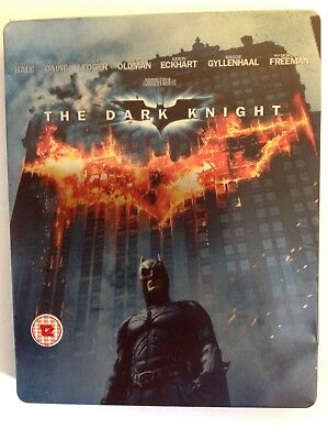 THE DARK KNIGHT (STEELBOOK) Blu-ray, 2-Disc. BATMAN. Christopher Nolan
