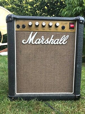 Marshall Lead 12 Model 5005 Solid State 12W Amp Amplifier
