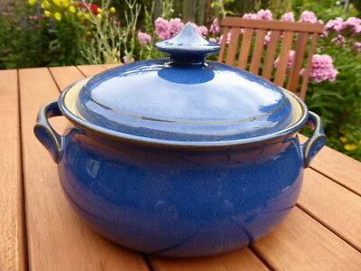 Denby Imperial Blue - Two handled Casserole