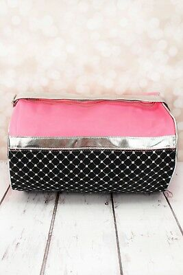 Sequin Quilted Duffel Dance Bag
