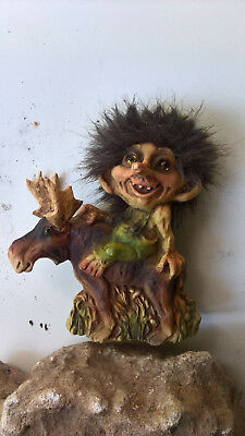 Troll Original NYFORM.Norwegian Design SINCE 1964, H = ca. 15 cm, B = ca.13 cm