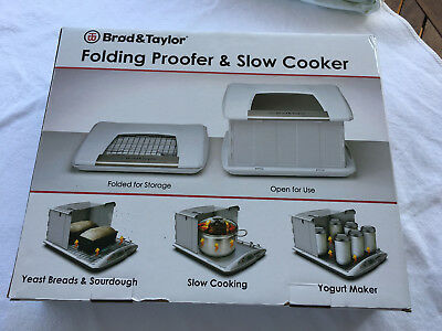 Gärautomat - folding proofer and slow cooker