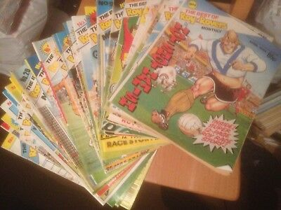 The Best of Roy of the Rovers All 27 Monthly Issues Good Condition
