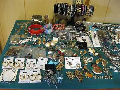 Costume Jewelry lot of 10 lbs.  all wearable, many are name brands