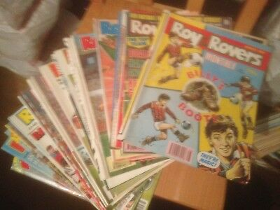 Roy of the Rovers Monthly Comic 22 Issues  Good Condition1990-1993