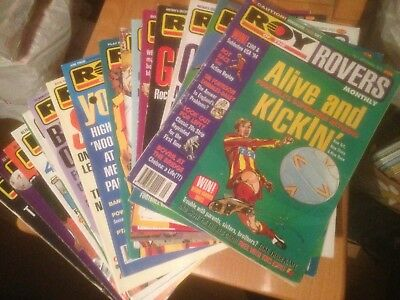 Roy of the Rovers New Monthly Comic 1993-1995 All 19 Issues Good Condition