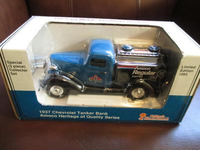 1993 Diecast Replica Amoco 1937 Chevrolet Tanker Bank - In Unopened Box (AK31)