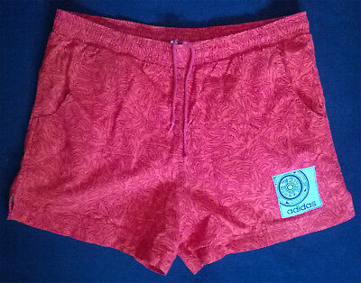 Adidas Shorts Costume S Red / Costume Pantaloncini Rosso Rossi
