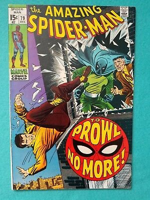 Amazing Spider-Man 79, 1969 Silver Age Marvel Comic FN+