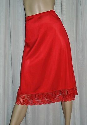 Vtg Half Slip SALE EVERY STYLE & EVERY SIZE by JCPenney Fantasia Red M