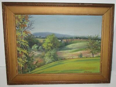 Listed Artist Oil Landscape Lancaster Pennsylvania