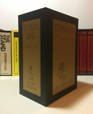 - Stephen King - THE DARK TOWER - Concealed Compartment Custom Book Safe Box
