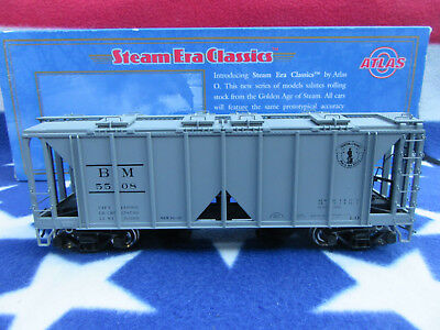Atlas Spur 0  ACF 70 ton. Covered  Hopper Boston & Maine   O-Scale Eisenbahnen