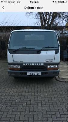 2000 Mitsubishi Canter Swb Recovery Truck Beavertail Spares Or Repairs 3.5Tonne