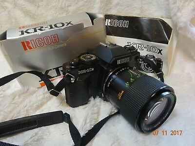 Boxed RICOH KR10x  35mm SLR Film Camera with 28 70mm f3.5 - 4.5  lens VGC